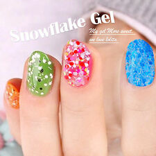 New arrival 7.5ml Glitter Gel Nail Polish Soak off Art Nail UV Gel Color Art Tip