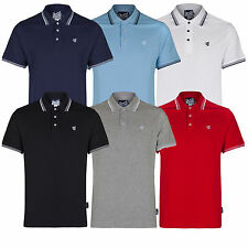 New Mens Gio Goi Tip Polo Shirt Top Cotton Causal Summer All Sizes