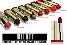 MILANI COLOR STATEMENT MOISTURE MATTE LIPSTICK-NEW COLORS