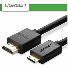 UG 1.4 Mini HDMI Male to HDMI cable 1080P 3D Tablet Camera Camcorder 1/2/3 Meter