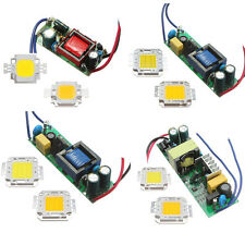 10W/20W/30W/50W LED Chip + Driver Power Supply For Light Lamp Bulb 85-265V US
