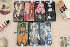 For iPhone 4 4S 4G 5 5S Sexy Bath Women Movie Star  Patter Cover Case Skin
