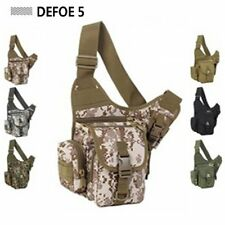 Desert Tactical Gear Sports Army SLR Photography Camera Saddle Shoulder Bag