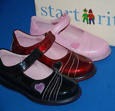 Start - Rite Filles Candy Tuff Chaussures Cuir Tailles Variées & Couleurs