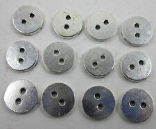 Lot 20/50/150pcs beautiful Tibet silver round 2 Holes Sewing Buttons 12mm