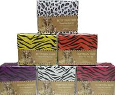 1600 Egyptian Touch Animal Print ZEBRA Leopard 4PC SHEET SET BEDDING Queen Twin