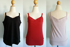 *Patagonia Women Vitaliti Strappy Tank Top Stretchy Organic Cotton Bra S M XL