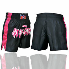 Muay Thai Fight Shorts MMA Grappling Kick Boxing Trunks Martial Arts UFC Pro