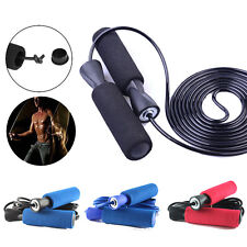 Aerobic Exercise Boxing Skipping Gym Jump Rope Adjustable Bearing Speed Fitness