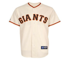 NWT Majestic San Francisco Giants MLB Toddlers Ivory Replica Jersey 2T-4T