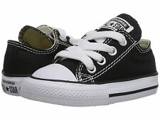 Toddler Converse 7J235 Chuck Taylor All Star Core OX 100% Authentic Black /White