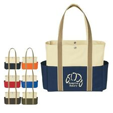 50 Tote Bags Personalized with your Custom Logo sold in bulk Item 3296