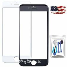 "Front Outer Screen Glass Lens Replacement Part for Apple iPhone 6 4.7""/Tools Kit"