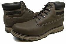 Men's Caterpillar® P717823 Founder Boston Muddy Leather 6 Inch Work Boots Size