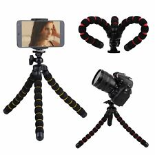 Larger Octopus Flexible Tripod Stand+Phone Holder for Camera Samsung S6 iPhone 6
