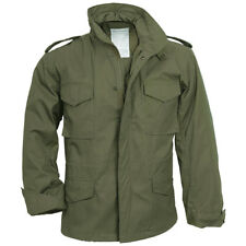 M65 Field Jacket Military Coat Army Mens Combat Parka + Liner Surplus Olive OD