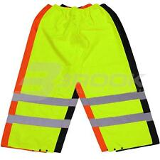 HIGH VISIBILITY OVER TROUSERS HI VIS VIZ REFLECTIVE SAFETY ALL COLOURS SIZES