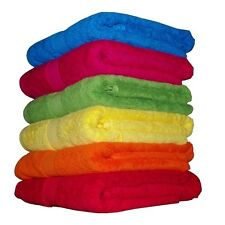 100% COTTON TOWELS - BATH TOWEL BATH SHEET BATH MAT HAND TOWEL FACE WASH - PRB36
