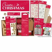 CREATE CHRISTMAS Papermania Festive Essentials Paper Craft Collection Full Range