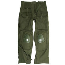 Army Warrior Trousers Tactical Uniform Mens Combat Pants Knee Pads Airsoft Olive