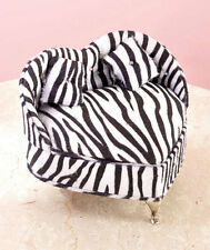 New Animal Print Heart Chair Jewelry Box Gift in Leopard, Pink Leopard or Zebra