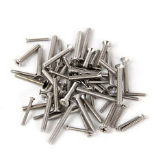100 PCS M2 Philips Flat Head Screw Alloy Steel Cross Bolts Screws Bolt