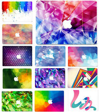 """Colorful Painted Hard Case+Keyboard Cover for Macbook 12""""Pro13""""15"""" Air 13""""15inch"""