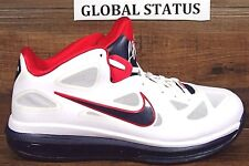 NIKE MENS LEBRON 9 LOW DREAM TEAM USA OLYMPIC BASKETBALL SHOES 510811 101 SZ: 9