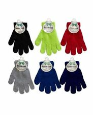Power Club Lot Children Magic Gloves Warm Toddlers Kid's Solid Wholesale Gift
