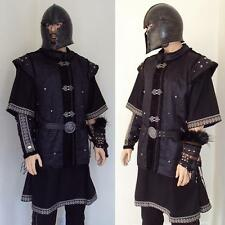 The Warlord Warriors Deluxe Fur Lined Jerkin Perfect Costume LARP Re-enactment