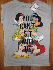 DISNEY PRINCESS T Shirt Primark Tee Top SNOW WHITE YOU CANT SIT WITH US