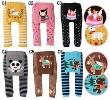 Baby boys girls toddler leggings Warmer Knitting Cotton PP pants Style C Group