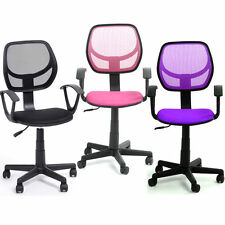 Ergonomic Mid back Home Office Task Chair Computer Chair Adjustable with Arms