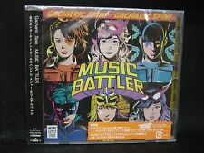 GACHARIC SPIN Music Battler JAPAN CD Cyntia Fate Gear Raglaia Luxion Mardelas