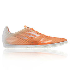 Adidas Adizero Ambition Womens Orange Running Spikes Athletics Track Shoes