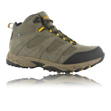 Hi-Tec Sensor Mid Mens Brown Waterproof Outdoor Walking Hiking Trail Boots New