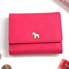 New Coin Bill Credit Business Card Case Holder Pocket _ DONBOOK Pony Wallet O