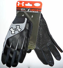 Under Armour HeatGear Lead-Off Batting Gloves Save 50% Softball Baseball SM Med