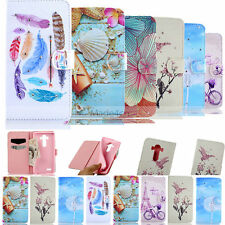 Vogue Crystal Diamonds Wallet Leather Flip Case Cover For LG Apple iPhone Sony