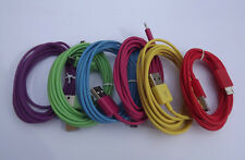Micro USB V8 Data Sync Charge Cable for Samsung HTC Huawei Nokia Colorful 2M