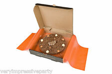 "Gourmet Chocolate 4"" Pizza Belgian Chocolate Gift -10 flavours honeycombe chilli"