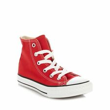 Converse Kids Boy's Red 'All Star' Hi-Top Trainers From Debenhams