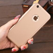 Hybrid Tempere Glass Glossy Full Acrylic Hard Case Cover For iPhone 6 6s Plus 6+
