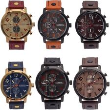 Fashion Men's Waterproof Sport Watch Analog Quartz Wrist Watch Casual