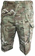 GENUINE BRITISH ARMY MTP COMBAT SHORTS - BRAND NEW