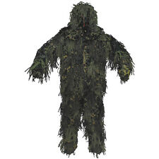 Mfh Ghillie Yowie Set Camouflage Suit Airsoft Hunting 3D Body System Woodland