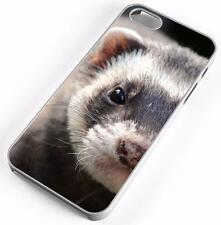 Sable Ferret Case Fits Apple iPhones Any Carrier