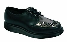 Dr Martens 3-Hole Ramsey Black Pewter Patent 14575002 Original Doc