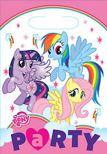 My Little Pony Party Favour Loot Bags 1-48pk