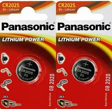 Pack of 2 Panasonic CR2025 3V Lithium Coin Cell Batteries 2025 Battery